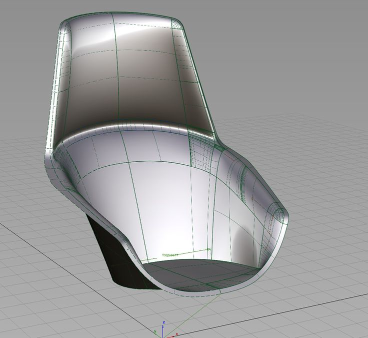 Revision of the 3D datas for definite foaming-cast model