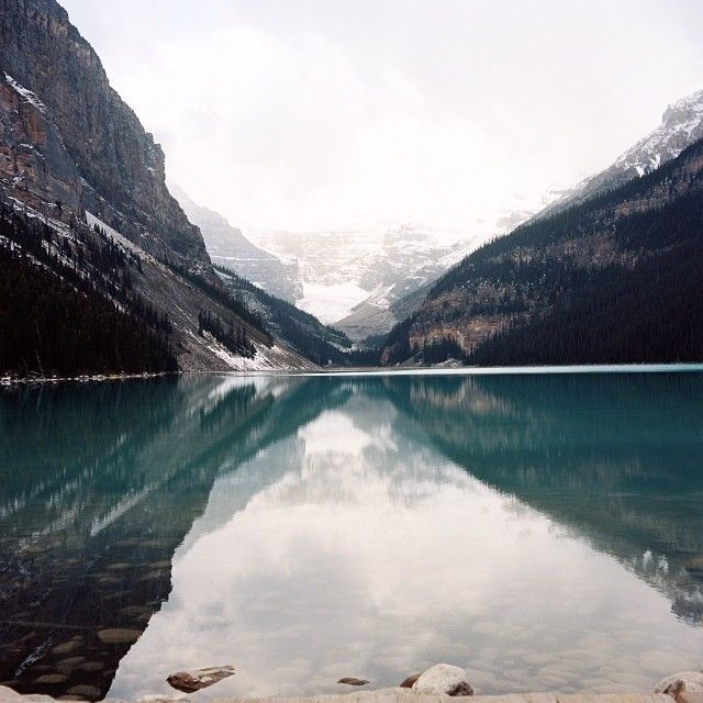Lake Louise, AB #iphoneography | ©Jayme Ford
