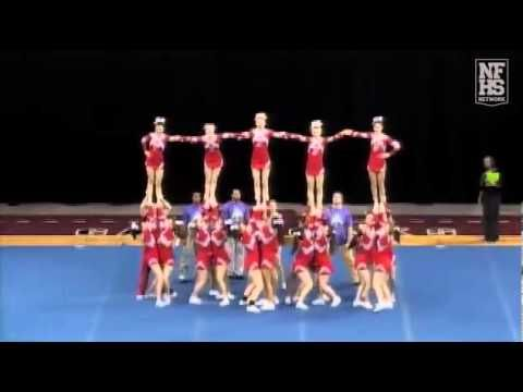 Mauldin High School Cheerleading 11-12 at STATE - YouTube