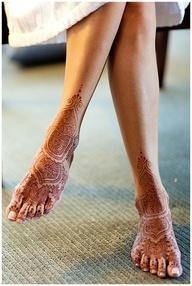 Bridal Feet Mehndi