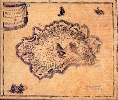 Ile Bourbon  -  Ile de La Reunion  -  ? year