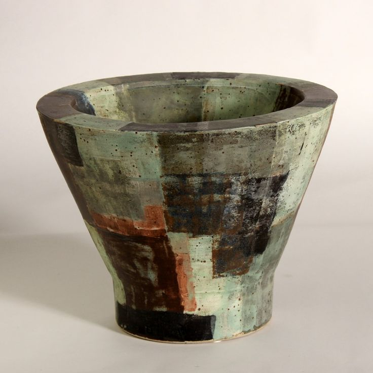 "Finn Dam Rasmussen #ceramics #vessel [""KONUS A, DOBBELT VÆG"", 2015]"