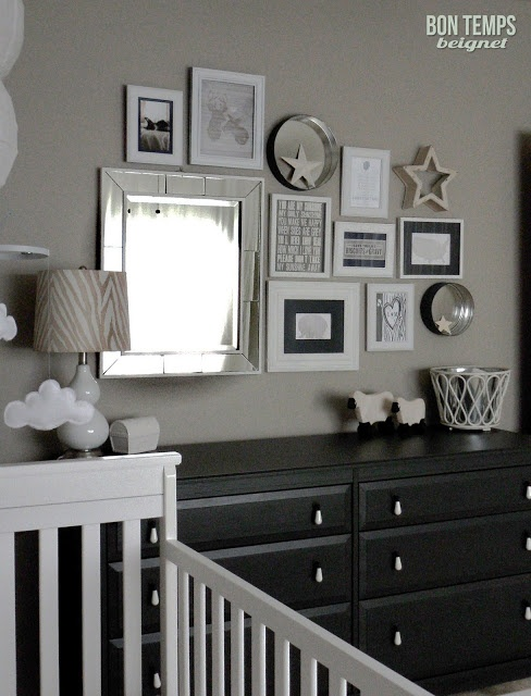 Boy's nursery - Perfect Taupe by Behr (paint color)
