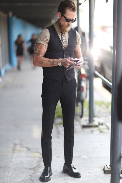 suitboss: Its a great lookMore suit inspiration right here. Your Style - http://Menwww.yourstyle-men.tumblr.com | More outfits like this on the Stylekick app! Download at http://app.stylekick.com
