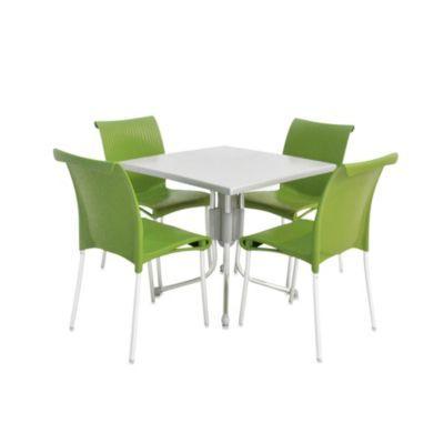 Nardi Regina 5-Piece Dining Table and Chair Set - BedBathandBeyond.com