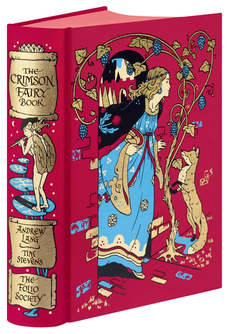 <3 this book and wish I had this gorgeous edition! ~ The Crimson Fairy Book by Andrew Lang