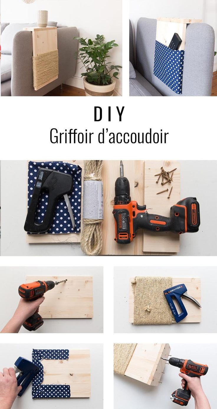 DIY griffoir chat