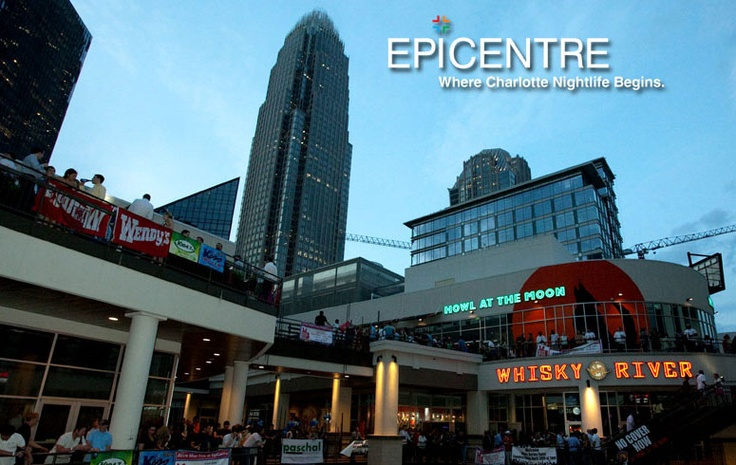If you have not been to the Epicenter in Uptown Charlotte you have to go!  From great food, to bowling to a movie theater, you can have a whole day of fun here!
