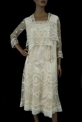 Ever Lovely: Vintage Textiles' Tea Dresses