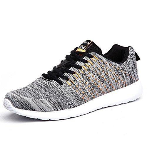 Oferta: 39€ Dto: -46%. Comprar Ofertas de AFFINEST Hombre Mujer Zapatillas de Deporte Gimnasia Ligero Sneakers Casual Malla para verano e invierno Caminar Zapatos(gris barato. ¡Mira las ofertas!