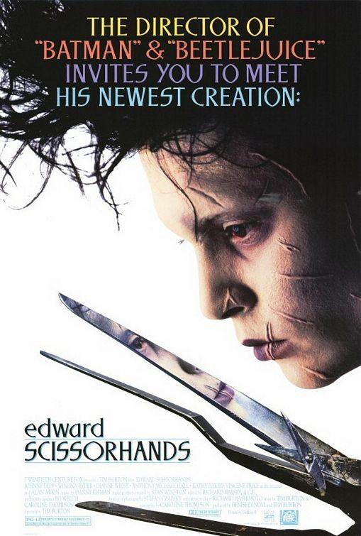 Edward Scissorhands - a must watch!