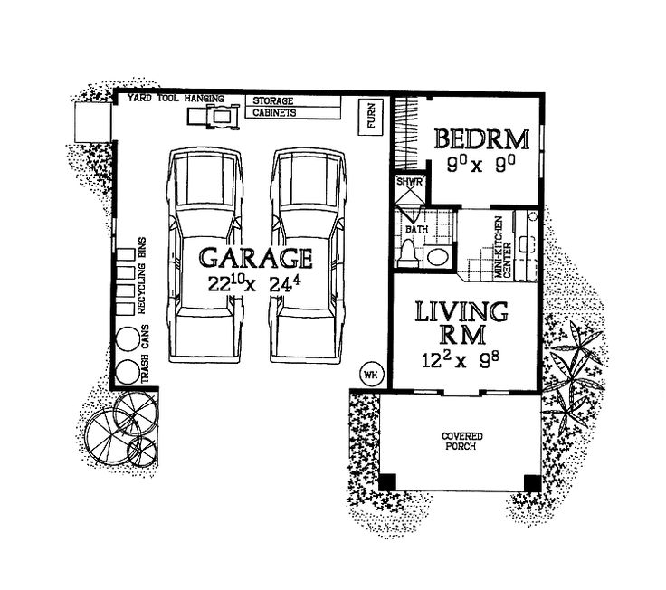 17 best ideas about garage studio apartment on pinterest for Studio apartment floor plans furniture layout