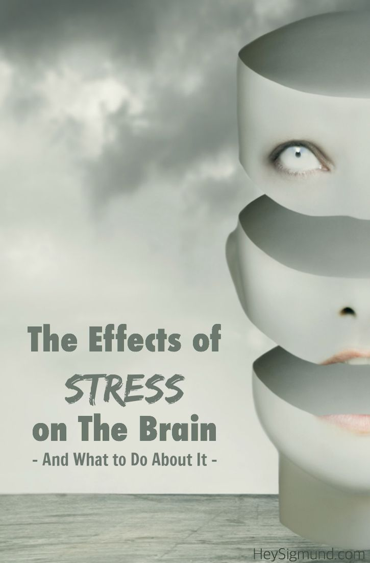 effect of stress on the brain Stress effects on the body  the central division involving the brain and spinal cord and the peripheral division consisting of the autonomic and somatic nervous.