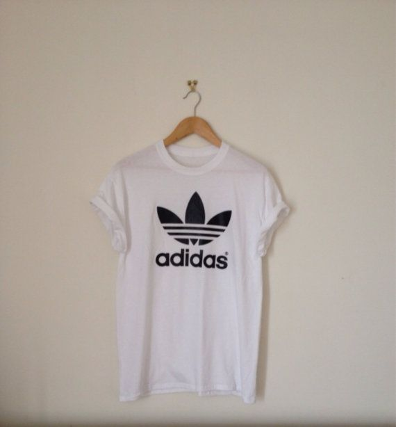 Hey, I found this really awesome Etsy listing at https://www.etsy.com/au/listing/205540217/classic-white-adidas-swag-sexy-style-top