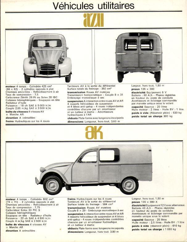 1967 Citroen Brochure