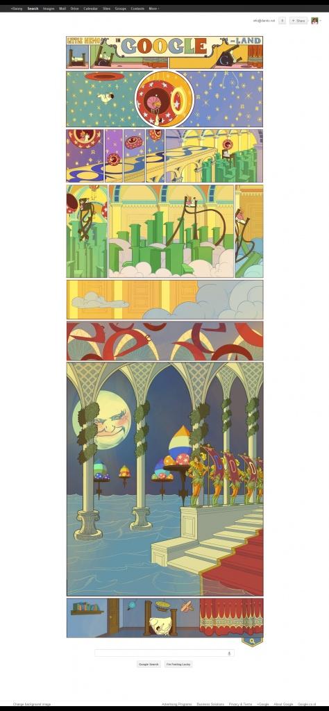 """""""Little Nemo"""" adalah komik-strip karya dari Winsor McCay Zenic, seorang kartunis Amerika dan animator, paling dikenal untuk komik-strip Little Nemo dan kartun animasi Gertie si Dinosaurus. Untuk alasan hukum, ia menggunakan nama pena """"Silas"""" di komik-strip Dream of the Rarebit Fiend."""