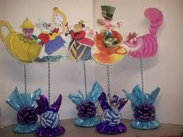 alice in wonderland centerpieces - Google Search