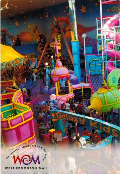 Galaxyland - West Edmonton Mall