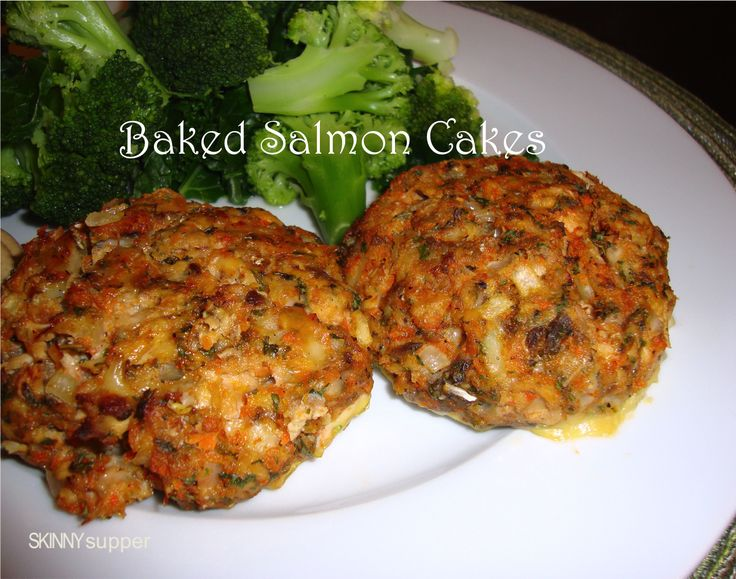 Easy Salmon Cake Recipe Baked
