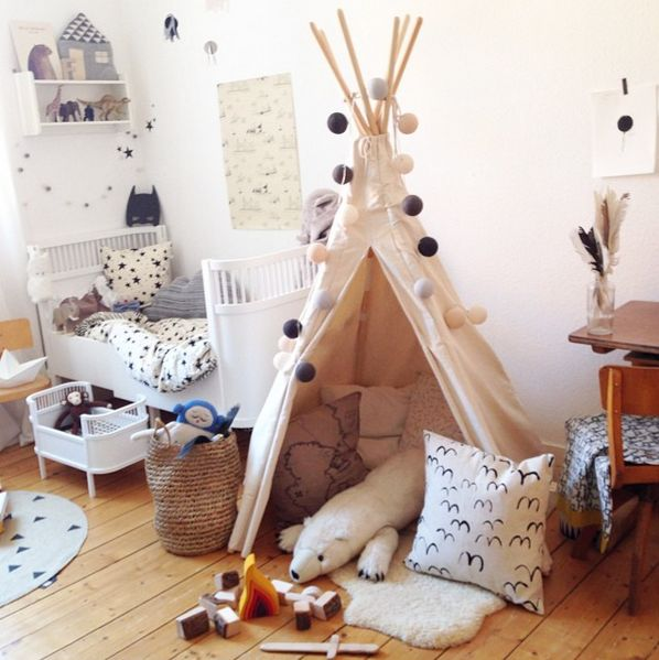 die besten 25 tipi kinderzimmer ideen auf pinterest. Black Bedroom Furniture Sets. Home Design Ideas