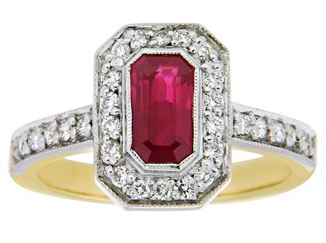 #ruby & #diamond #ring | #thomasjewellers