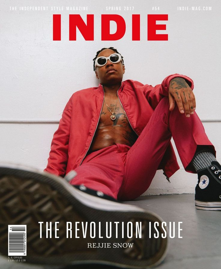 Rapper Rejjie Snow photographed by Joshua Woods for the cover of our Revolution issue 53