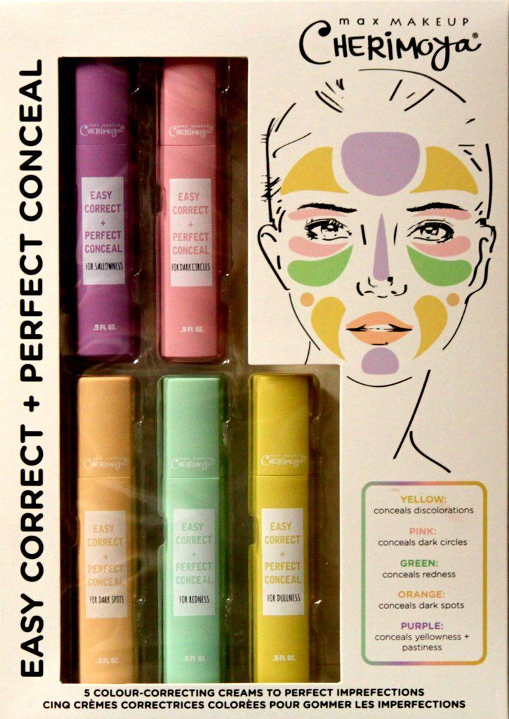 Cherimoya Max Makeup Perfect Correct Conceal Gift Set is