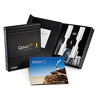 Geno 2.0 - Genographic Project Participation and DNA Ancestry Kit $199.95 (National Geographic)