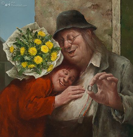 Marius van Dokkum ART Ik hou van jou