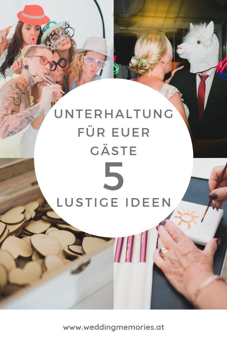 Hochzeit 2020 – Lustige Unterhaltung für eure Gäste!