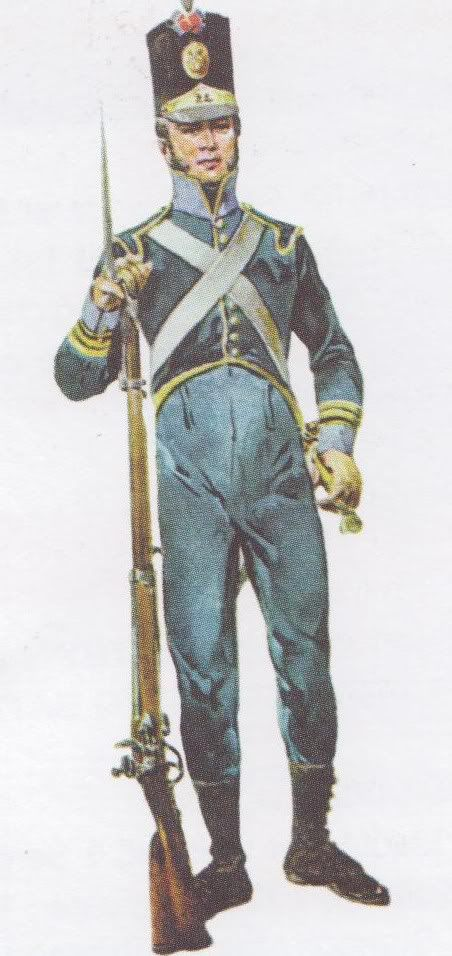 Infantry Regiment No.24; Corporal 1810-5