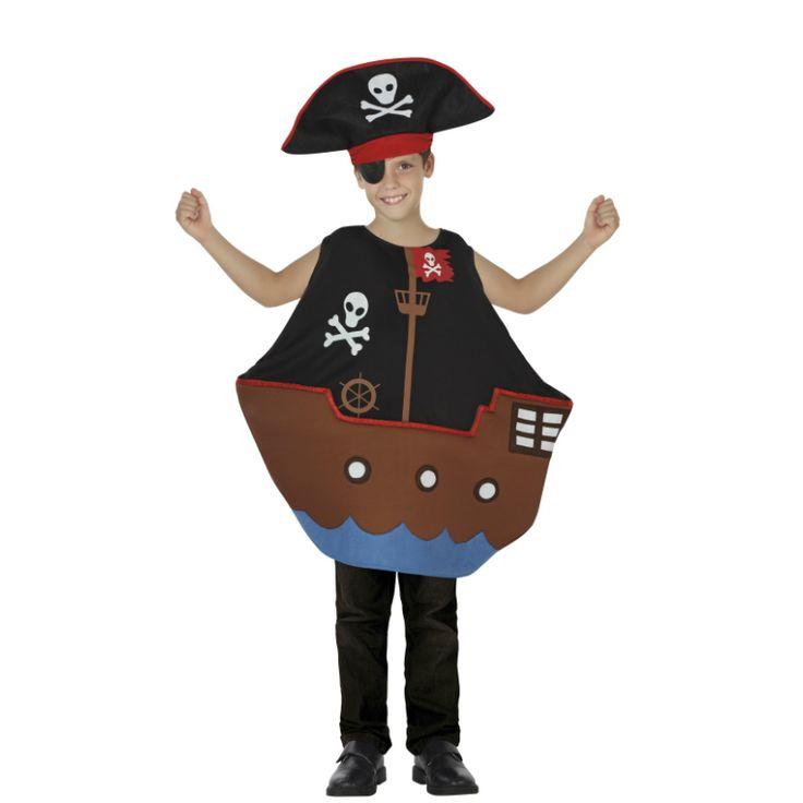 Disfraz de Barco Pirata #disfraces #carnaval