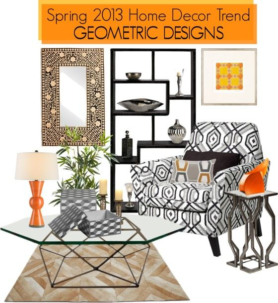 A Dynamic Spring 2013 Home Decor Trend That Is Taking Over Homes Everywhere Incorporates  Geometric Designs Photo Gallery