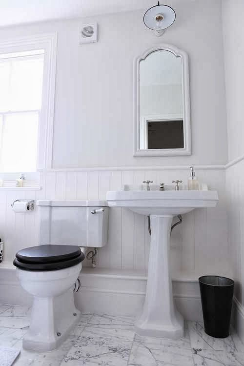 A Delightful Victorian Style Bathroom, Achievable On A Moderate Budget.  Toilet And Basin By