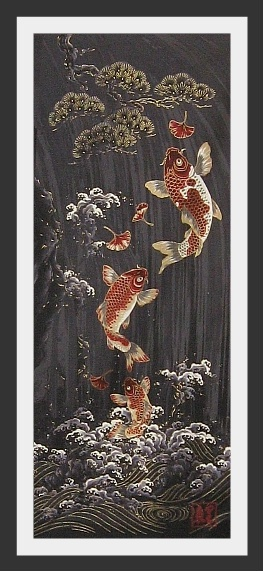 12 best koi fish tattoo designs images on pinterest fish for Koi fish material