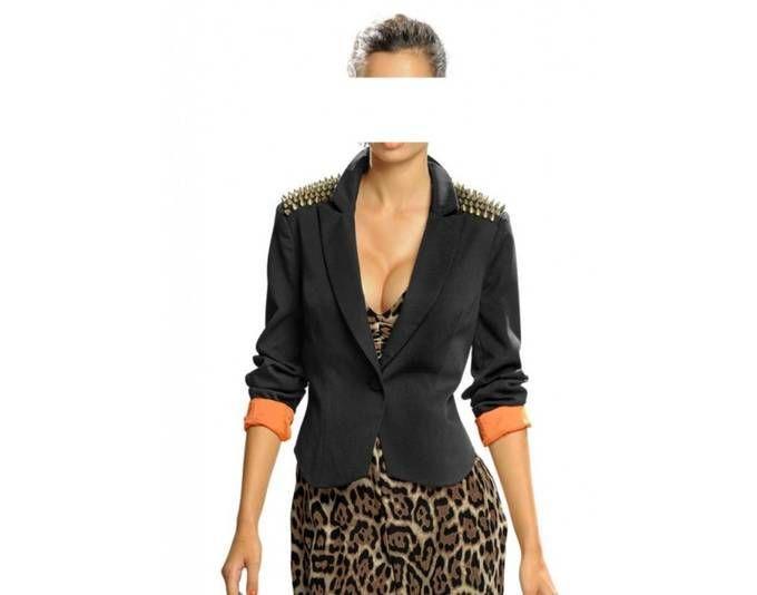 Alba Moda Damen Blazer mit Nieten, schwarz Jetzt bestellen unter: https://mode.ladendirekt.de/damen/bekleidung/blazer/sonstige-blazer/?uid=1b7ffb10-6440-5508-8fc0-2fcfe807b1bb&utm_source=pinterest&utm_medium=pin&utm_campaign=boards #sonstigeblazer #blazer #bekleidung