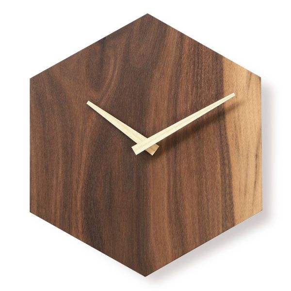 http://www.antiquealive.com/store/detail.asp?idx=5193&CateNum=170&pname=Walnut-Wood-Beehive-Design-Wall-Mount-Non-Ticking-Silent-Clock Walnut Wood Beehive Design Hexagonal Wall Mount Non-Ticking Silent Clock