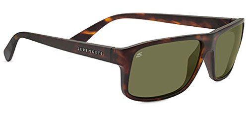 Serengeti Claudio Sunglasses - Satin Dark Tortoise, Medium/Large Price Β£159
