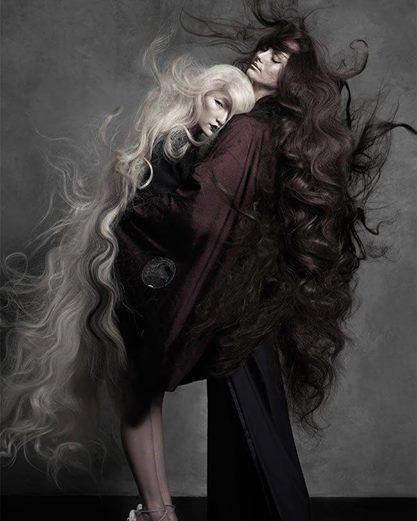 Nagyon nagyon hosszú #haj / Very very long #hair