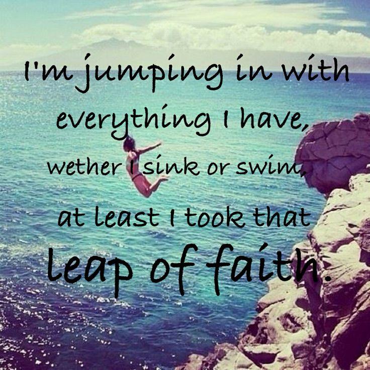 Leap Of Faith Quotes. QuotesGram