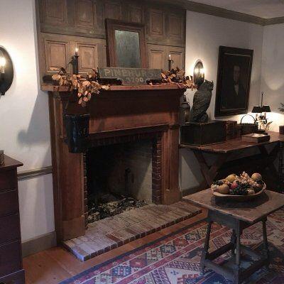 141 best fireplace mantles images on pinterest prim decor olde bittersweet farm teraionfo