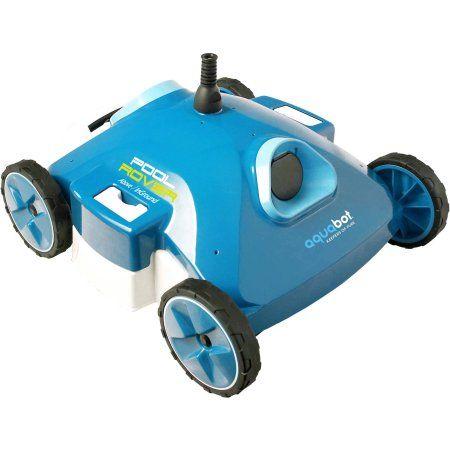 Aqua Products Aquabot Pool Rover S2-40i Automatic Robotic Swimming Pool Vacuum Cleaner, Blue