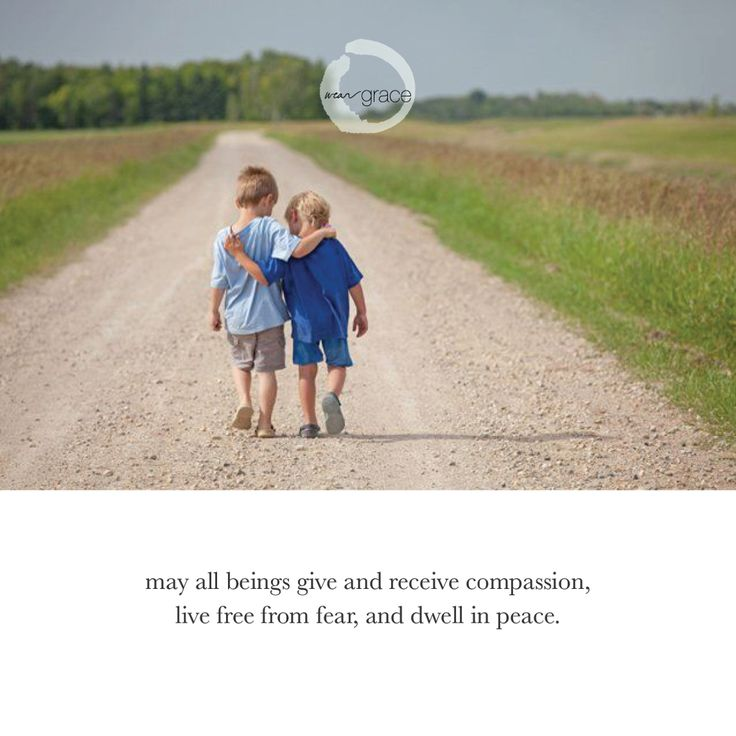 #Compassion free from #Fear Live in #Peace with #Weargrace