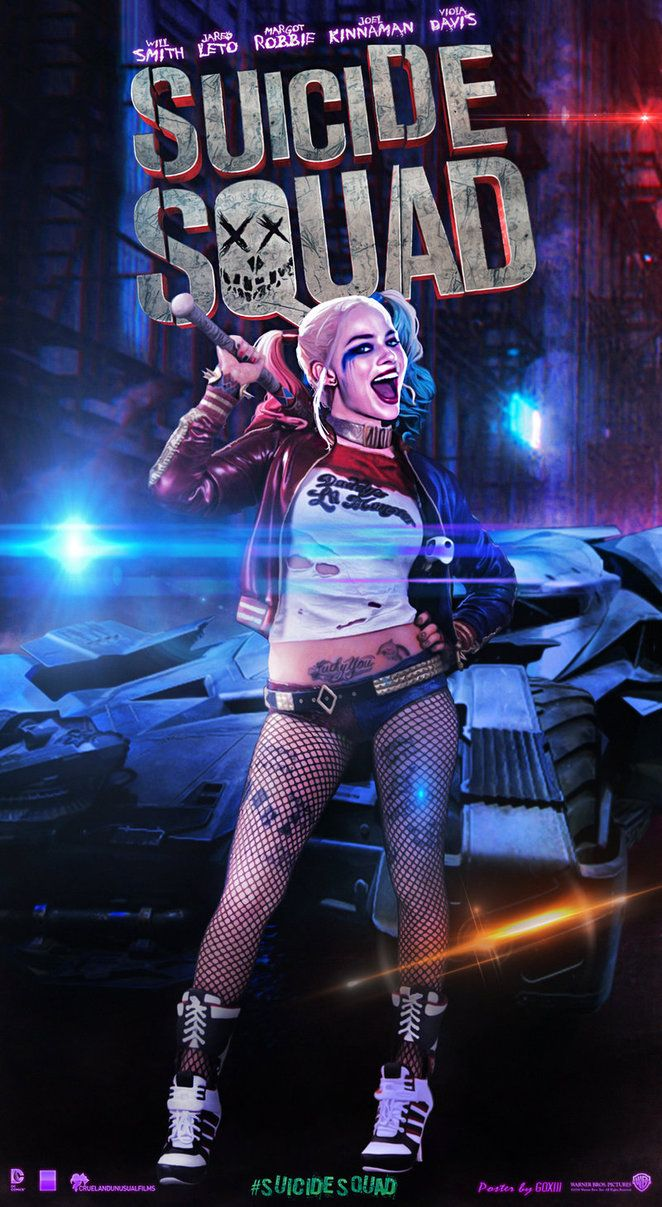Suicide Squad Harley Quinn Poster by GOXIII on DeviantArt