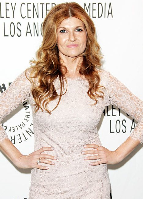 Connie Britton has the BEST hair. Love that she's aging so beautifully too.