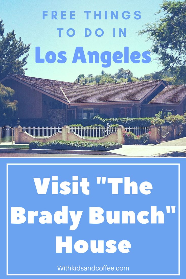 """Visit """"The Brady Bunch"""" House 