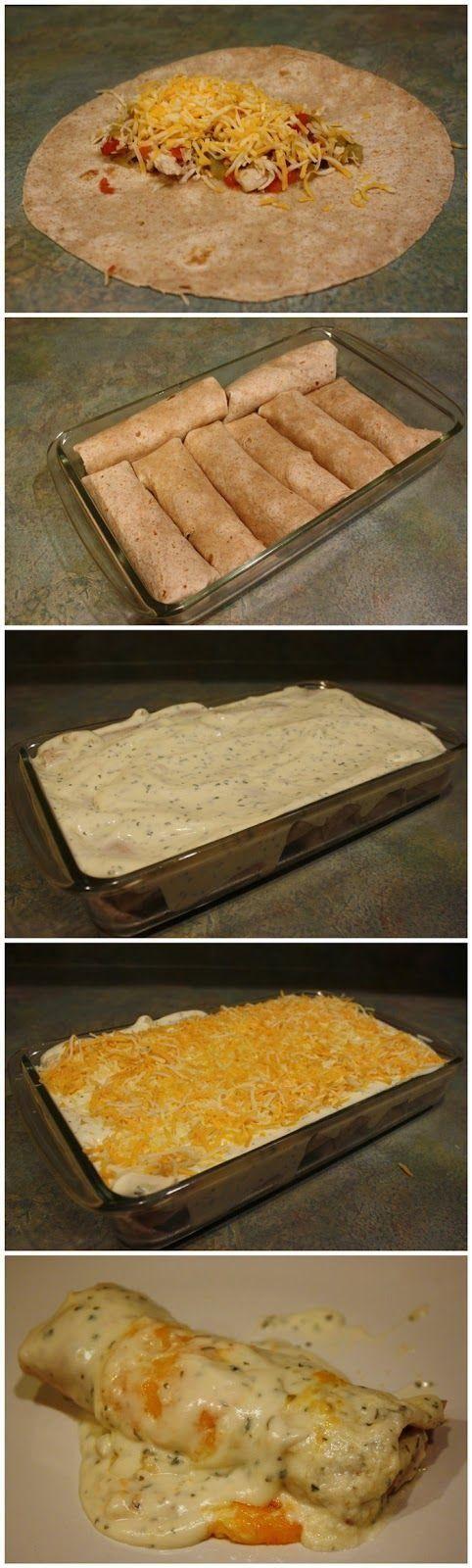 Like, Repin, Comment ;) skinny sour cream enchiladas. Like, Repin, Comment, if you like it ;)