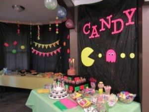 Totally Radical 80's Themed Party General Decor