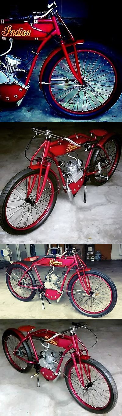 Gas Scooters 75211: Replica Indian Board Track Racer Tribute Diy Kit Antique Vintage Harley Rat Cafe -> BUY IT NOW ONLY: $1399 on eBay!