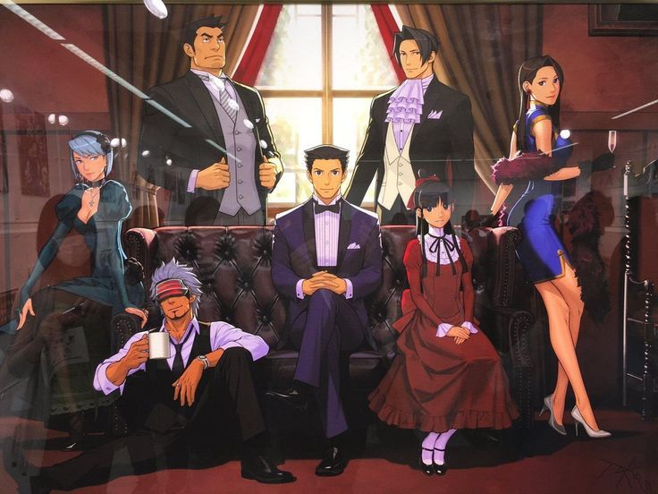 Official Artwork Art Official Phoenix Wright Apollo Justice Games